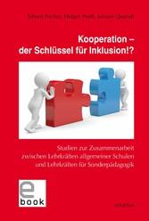 Kooperation - der Schlüssel für Inklusion!? - S...