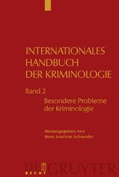Besondere Probleme der Kriminologie