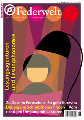 Federwelt 121 - Zeitschrift für Autorinnen und ...