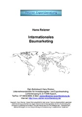 Internationales Baumarketing