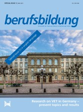 berufsbildung - Research on VET in Germany - present topics and results