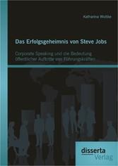 Das Erfolgsgeheimnis von Steve Jobs: Corporate ...