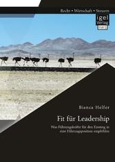 Fit für Leadership: Was Führungskräfte für den ...