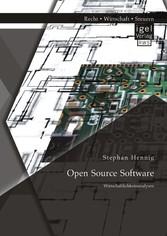 Open Source Software: Wirtschaftlichkeitsanalysen