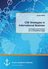 CSR Strategies in International Business. Conce...