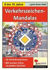 Verkehrszeichen-Mandalas