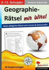 Geographie-Rätsel mit Witz! - 8.-13. Schuljahr ...
