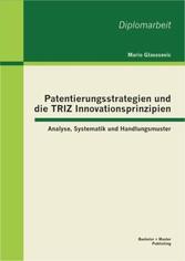 Patentierungsstrategien und die TRIZ Innovation...