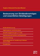 Besteuerung von Dividendenerträgen und wesentli...