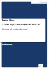 A faster approximation scheme for #k-SAT - Expl...