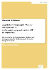 Zugriffsberechtigungen / Access Management in r...