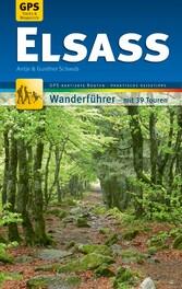 Elsass Wanderführer Michael Müller Verlag - 39 ...