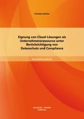 Eignung von Cloud-Lösungen als Unternehmensress...