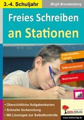 Freies Schreiben an Stationen - Individuelles L...