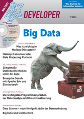 iX Developer Big Data - Tools, Standards, Daten...