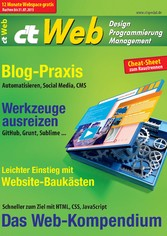ct Web 2015 - Desing, Programmierung, Management