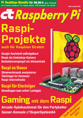 ct Raspberry Pi (2017) - Raspi-Projekte auch fü...