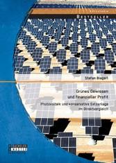 Grünes Gewissen und finanzieller Profit: Photov...
