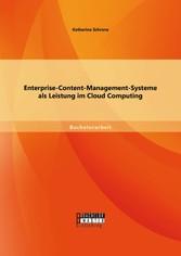 Enterprise-Content-Management-Systeme als Leist...