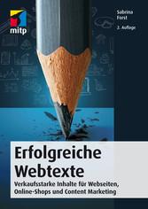 Erfolgreiche Webtexte - Verkaufsstarke Inhalte ...