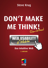 Dont make me think! - Web & Mobile Usability: D...