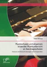 Musikschulen und allgemein bildender Musikunter...