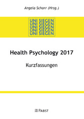 Health Psychology 2017 - Kurzfassungen
