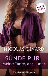 Sünde pur - meine Tante, das Luder - Erotischer Roman