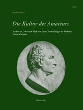 Die Kultur des Amateurs - Studien zu Leben und ...