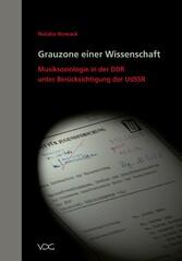 Grauzone einer Wissenschaft - Musiksoziologie i...
