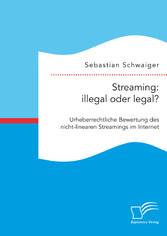 Streaming: illegal oder legal? Urheberrechtlich...