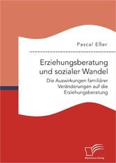 Erziehungsberatung und sozialer Wandel: Die Aus...