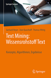 Text Mining: Wissensrohstoff Text - Konzepte, A...