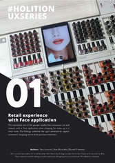 Retail experience with face application