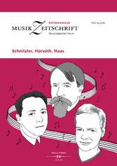 Schnitzler, Horváth, Haas - Österreichische Mus...
