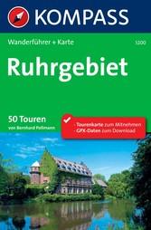 Kompass Wanderführer Ruhrgebiet - 50 Touren