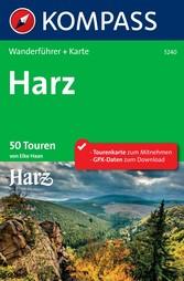 Kompass Wanderführer Harz - 50 Touren