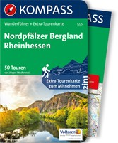 Kompass Wanderführer Nordpfälzer Bergland - Rhe...