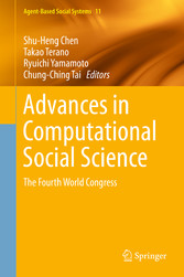 Advances in Computational Social Science - The ...