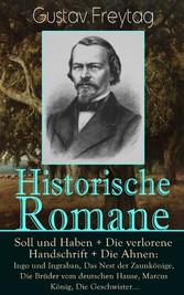 Historische Romane: Soll und Haben + Die verlor...