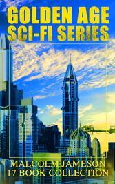 Golden Age Sci-Fi Series - Malcolm Jameson 17 B...