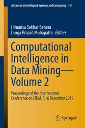 Computational Intelligence in Data Mining-Volum...