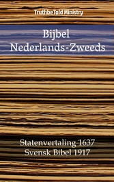 Bijbel Nederlands-Zweeds - Statenvertaling 1637...