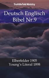 Deutsch Englisch Bibel Nr.9 - Elberfelder 1905 - Young´s Literal 1898