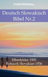 Deutsch Slowakisch Bibel Nr.2 - Elberfelder 1905 - Rohacek Slovakian 1936