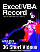 Excel 2016 VBA - Record - How to save time usin...