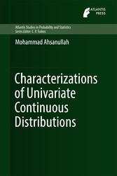 Characterizations of Univariate Continuous Dist...