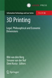 3D Printing - Legal, Philosophical and Economic...