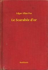 Le Scarabée dor