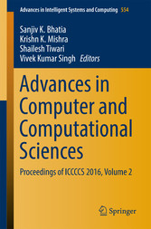 Advances in Computer and Computational Sciences...